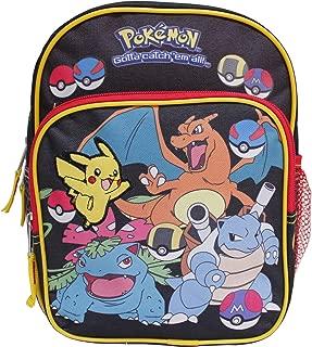 """Pokemon """"Gotta Catch'em All!"""" Black Toddler 10"""" Backpack"""