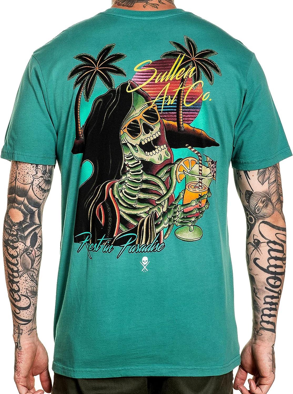 Sullen Reap-O-Colada Short Sleeve Max 72% OFF Premium Sku Large discharge sale Fit Vintage Tattoo