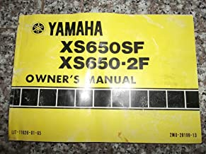 Yamaha XS650SF XS650-2F Owners Manual 1978 LIT-11626-01-65