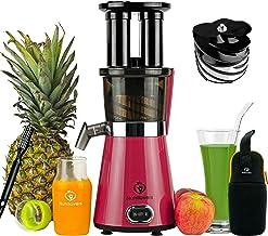 Nutrilovers Slow Juicer Obst & Gemüse   BPA-Frei -