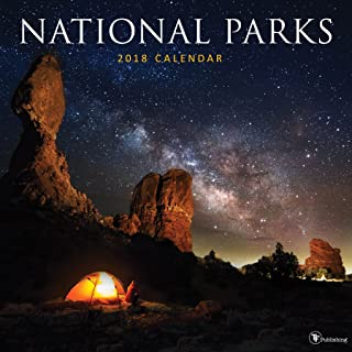 2018 National Parks Wall Calendar