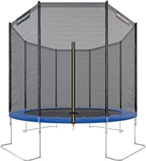 Ultrasport Gartentrampolin, Outdoor Trampolin, Kindertrampolin, Ø 183-430cm, Sprungfedern oder innovatives Elastik Sprungs...