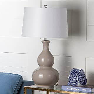Safavieh Lighting Collection Benson Grey 30.75-inch Table Lamp