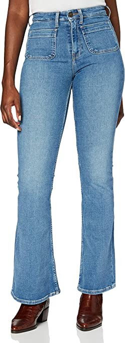 Lee Breese Patch Pocket Jeans Donna