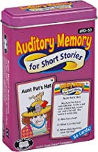 Super Duper Publications | Auditory Memory for Short Stories Fun Deck | Listening Comprehension Flash Cards | Educational Learning Materials for Children