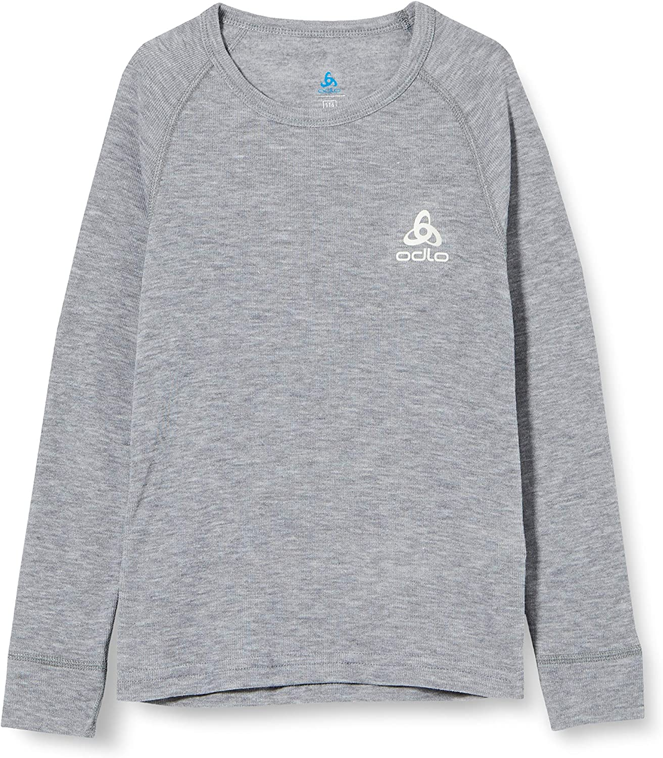 ODLO childrens Long-Sleeved Crew Neck T-Shirt with X-Warm 155169