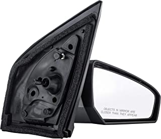 2007-2012 Nissan Sentra Manual Smooth Black Paint To Match With Cap/Cover Rear View Mirror Right Passenger Side (2007 07 2008 08 2009 09 2010 10 2011 11 2012 12)