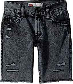 511 Slim Fit Destroyed Denim Cut Off Shorts (Big Kids)