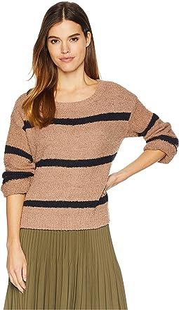 Autrey Fuzzy Chenille Sweater