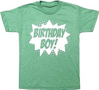 Sponsored Ad - Superhero Birthday Boy Comic Book Hero Party T-Shirt