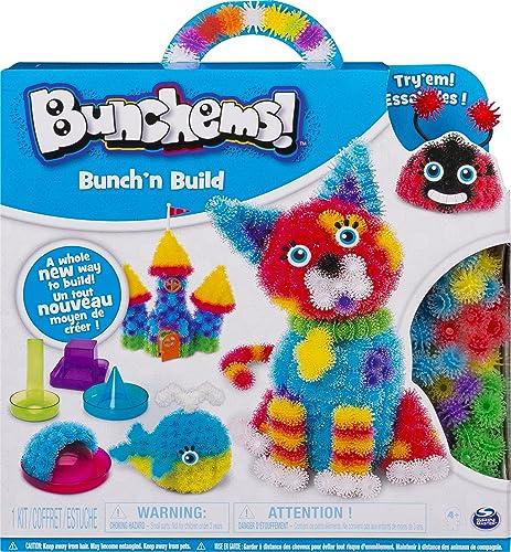 Bunchems - 6044156 - Loisirs Créatifs - Jeu enfant - Bunch'n'build