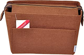Vercord Felt Zipper Handbag Tote Purse Duffel Backpack Organizer Insert Medium Large 2 Sizes 5 Colors
