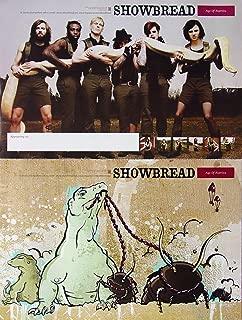 Showbread - Age Of Reptiles - Two Sided Poster - New - Rare - Ivory Mobley - Josh Dies - Matt Davis - Patrick Porter - Mike Jensen - Marvin Reilly - John Giddens