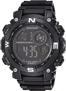 Men's Digital Chronograph Resin Strap Watch, 40/8284