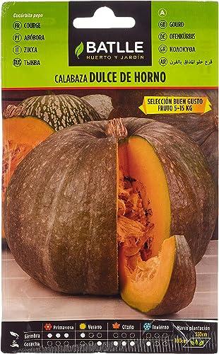 Semillas Hortícolas - Calabaza Dulce de Horno Buen Gusto - Batlle