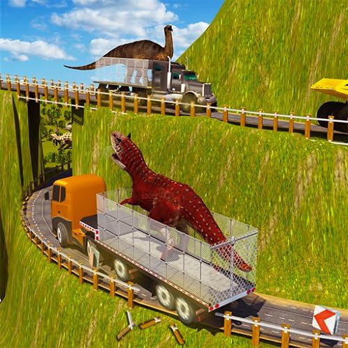 Wütender Dino-Transport-LKW-Simulator 3D: Tiertransporter-wilde Dinosaurier-Spiele