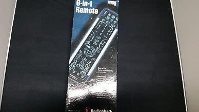Radioshack Kameleon 15-2133 6 in 1 Remote Control