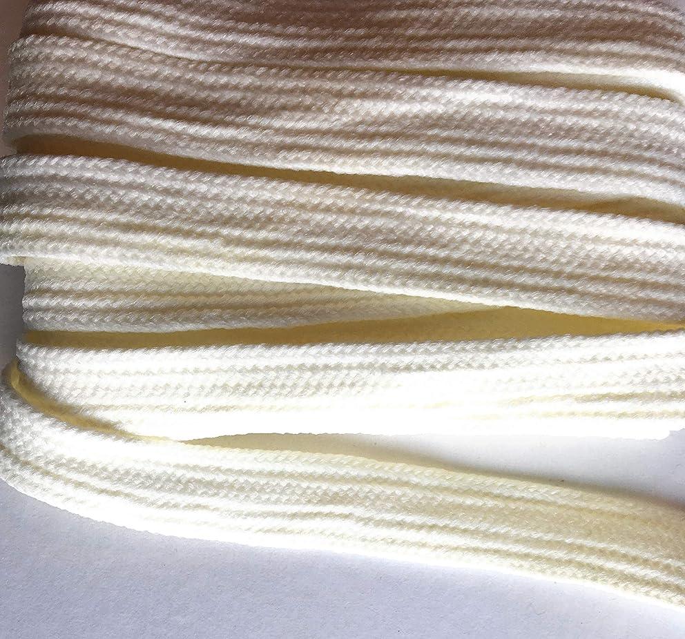 3/4''' White Heavy Weave Braid, Trim, Trimmings 5 yds. 12mm x 2mm