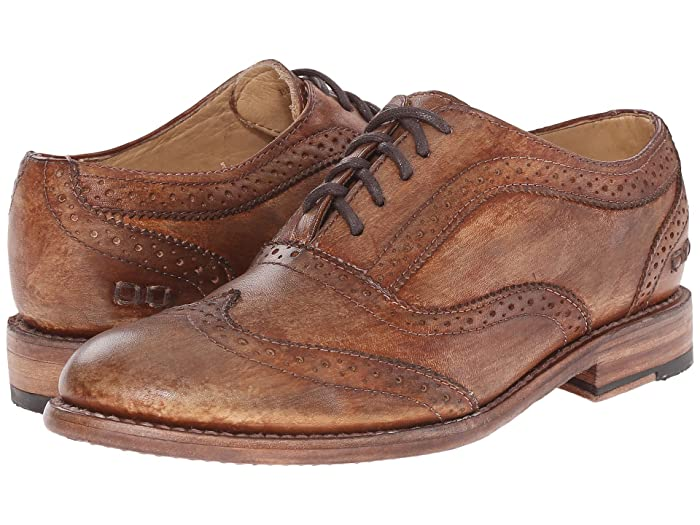 1930s Shoes History Bed Stu Lita Tan Driftwood Womens Lace up casual Shoes $195.00 AT vintagedancer.com