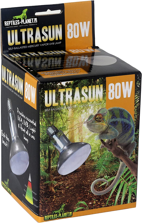 Reptiles Planet Ultrasun UVB Reptiles Lámpara 80W
