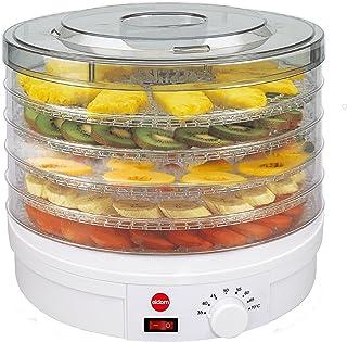 comprar comparacion Deshidratador De Setas, Verduras, Frutas SG200N Crusty ELDOM, 5 Bandejas Con Diametro 32 Centimetros,Potencia 245 Watios