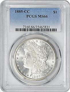 1885-CC Morgan Silver Dollar, MS66, PCGS