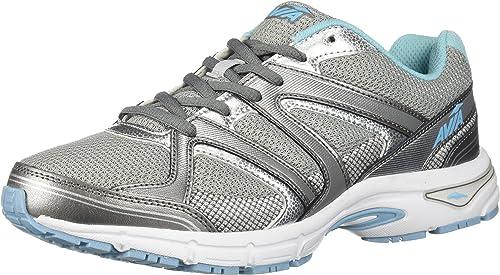 Avia Wohommes Avi-Execute Avi-Execute II FonctionneHommest chaussures, Chrome argent Metallic gris Topaz bleu, 8 M US  édition limitée chaude