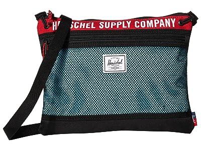 Herschel Supply Co. Alder (Black/Red/Bachelor Button) Handbags