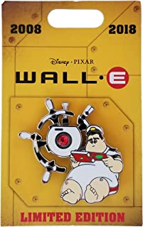 Disney Pin - Wall-E - 10th Anniversary - Captain McCrea