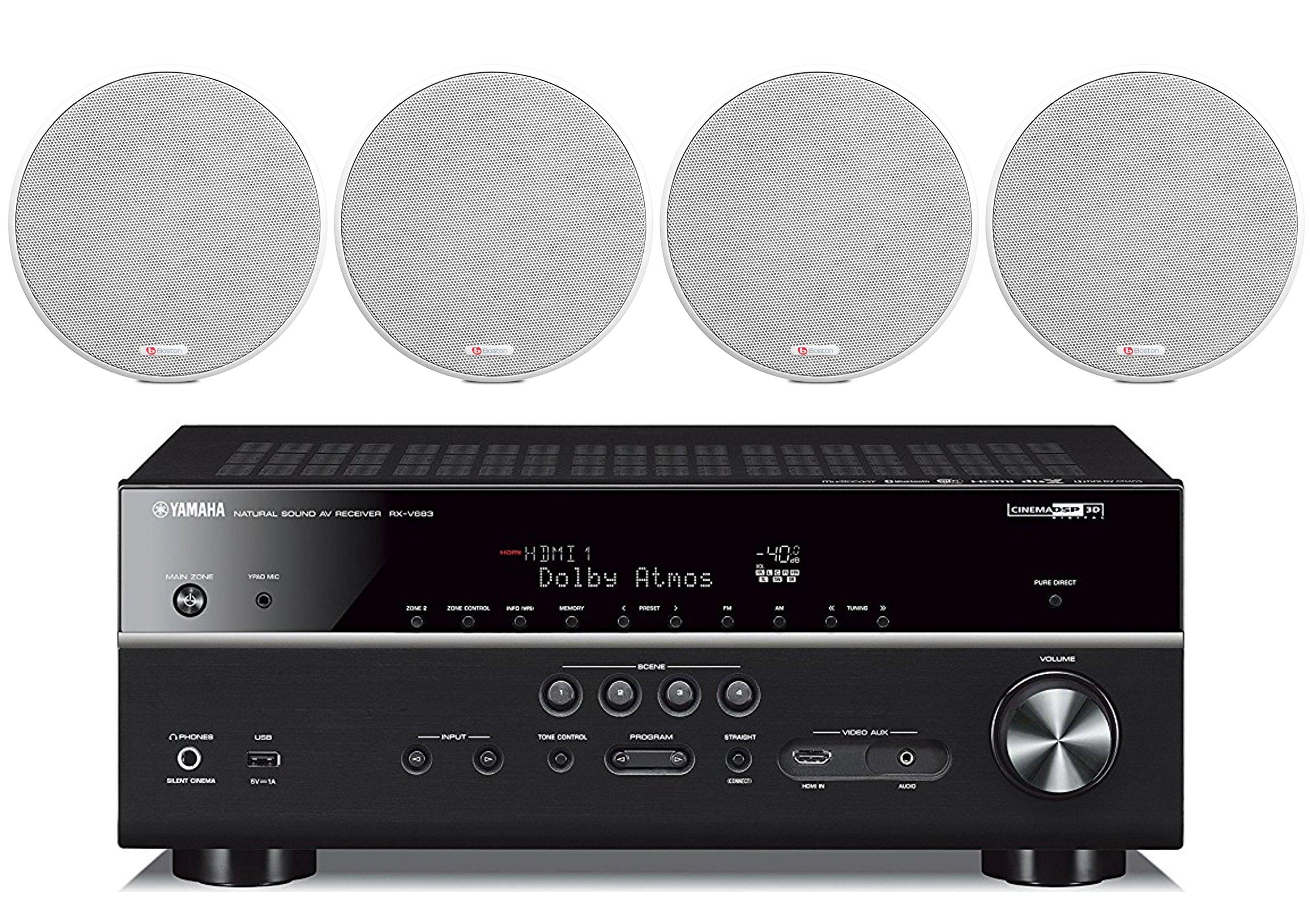 Yamaha 7 2 Channel Bluetooth Acoustics High Performance