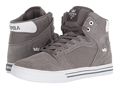 Supra Vaider (Charcoal/White) Skate Shoes