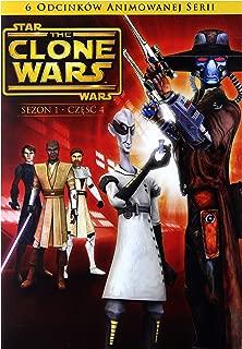 Star Wars: The Clone Wars Season 1 episodes 17-22 [DVD] (English audio. English subtitles)