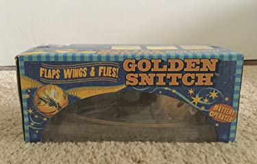 Wizarding World of Harry Potter Quidditch Battery Operated Flying Golden Snitch Toy with Moving Wings