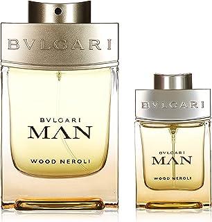 Bvlgari Wood Neroli for Men Eau de Parfum 100ml+15ml+Pouch Set
