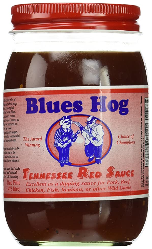 Blues Hog, Sauce 16 Oz Jar (Pack of 3) (Tennessee Red Sauce)