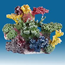Instant Reef DM035 Artificial Coral Inserts Decor, Fake Coral Reef Decorations for Colorful Freshwater Fish Aquariums, Marine and Saltwater Fish Tanks
