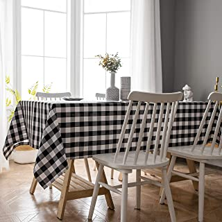 Best black and white print tablecloth Reviews