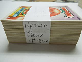 1987 Garbage Pail Kids cards series 11 complete set