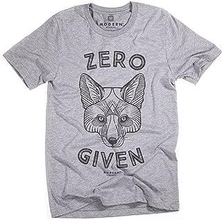 Superluxe Clothing Mens Vintage Style Zero Fox Given Unisex Tri-Blend T-Shirt
