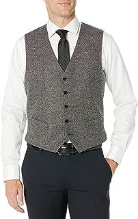 J.Lindeberg Men's Two Tone Wool Business Suit Vest