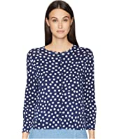 Kate Spade New York - Cloud Dot Scallop Cardigan