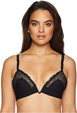 Citrine Padded Triangle V-Bra