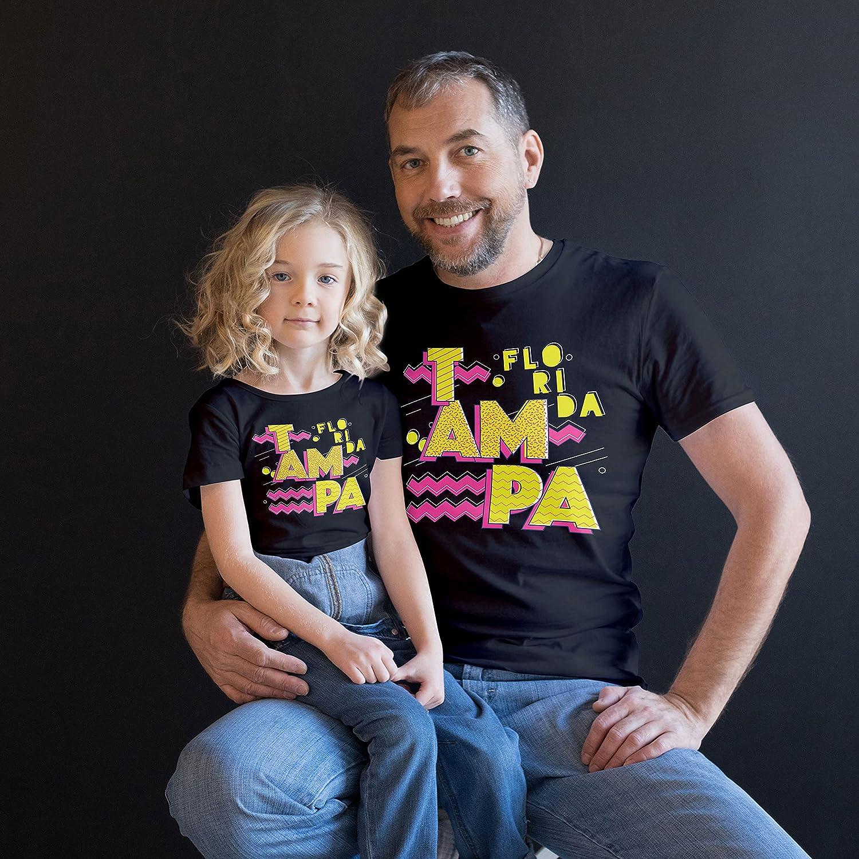 Retro 90S Tampa, Florida Kids Custom Personalized T-Shirt