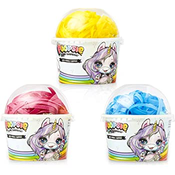 Poopsie Slime Surprise Unicorn Bombas de Baño para Niños, Set 3 Cajas Fideos de Baño Agua Color Burbujas, Baño Divertido Regalos Originales para Niñas Pupsy: Amazon.es: Juguetes y juegos