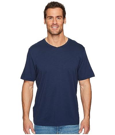 Tommy Bahama Portside Palms V-Neck T-Shirt (Maritime) Men