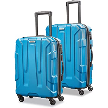 Samsonite Centric Hardside Expandable Luggage with Spinner Wheels, Caribbean Blue, 2-Piece Set (20/24)