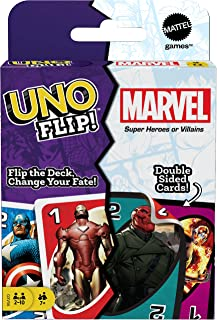 UNO The Eternals Matching Card Game with 112 Cards, Gift for Kid, Family & Adult Game Night for Players 7 Years & Older
