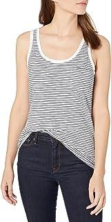 Goodthreads Blusa sin Mangas de algodón clásica Camisa de Vestir para Mujer