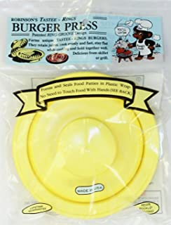 Robinson's Tastee Rings Burger Press