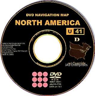 Toyota Lexus Navigation Map Update DVD Ver 16.1 U41 with Override Gen5